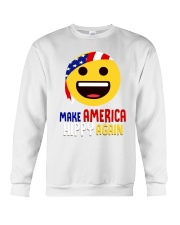 MAKE AMERICA HIPPY AGAIN Crewneck Sweatshirt thumbnail