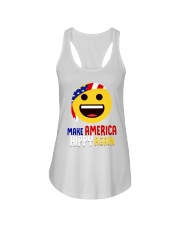 MAKE AMERICA HIPPY AGAIN Ladies Flowy Tank tile