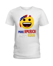 MAKE AMERICA HIPPY AGAIN Ladies T-Shirt tile