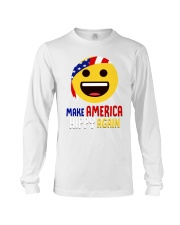 MAKE AMERICA HIPPY AGAIN Long Sleeve Tee tile
