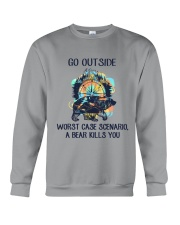 A Bear Kills You Crewneck Sweatshirt thumbnail