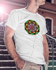MANDALA 13 Classic T-Shirt lifestyle-mens-crewneck-front-5