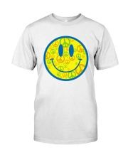 SMILE PEACE Classic T-Shirt front