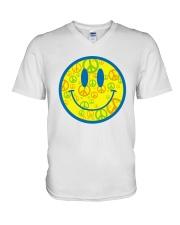 SMILE PEACE V-Neck T-Shirt thumbnail
