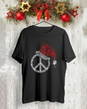 PEACE Classic T-Shirt lifestyle-holiday-crewneck-front-2