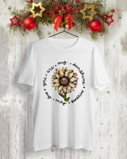 YOU ART MY SUNSHINE Classic T-Shirt lifestyle-holiday-crewneck-front-2