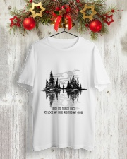 Into The Forest Classic T-Shirt lifestyle-holiday-crewneck-front-2