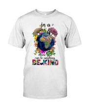 PEACE BE KIND Classic T-Shirt front