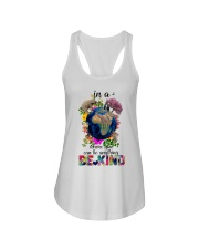 PEACE BE KIND Ladies Flowy Tank thumbnail