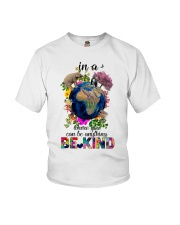 PEACE BE KIND Youth T-Shirt thumbnail