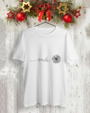 Smile 3 Classic T-Shirt lifestyle-holiday-crewneck-front-2