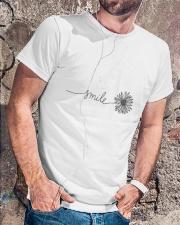Smile 3 Classic T-Shirt lifestyle-mens-crewneck-front-4