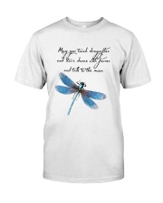 May You Touch Dragonflies And Stars Classic T-Shirt front