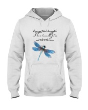 May You Touch Dragonflies And Stars Hooded Sweatshirt thumbnail