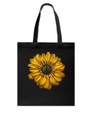 Flower Peace Tote Bag thumbnail