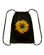 Flower Peace Drawstring Bag thumbnail