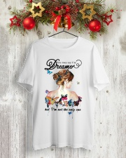 You May Say I Am A Dreamer Classic T-Shirt lifestyle-holiday-crewneck-front-2