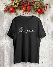 IMAGINE Classic T-Shirt lifestyle-holiday-crewneck-front-2