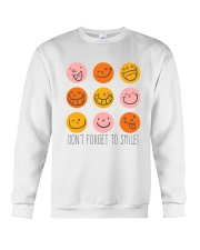 DON'T FORGET TO SMILE Crewneck Sweatshirt tile