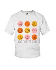 DON'T FORGET TO SMILE Youth T-Shirt thumbnail
