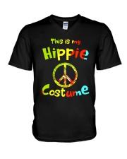 HIPPIE COSTUME V-Neck T-Shirt thumbnail