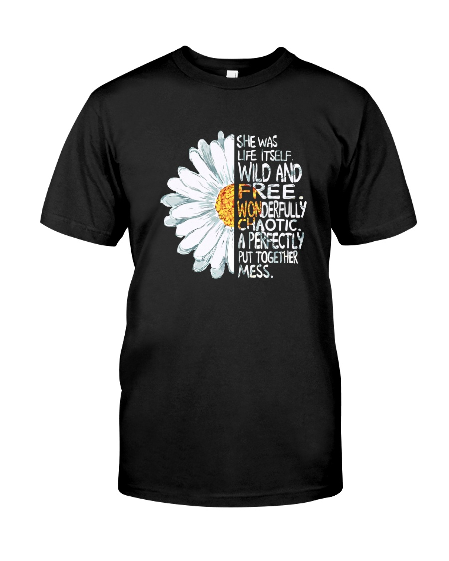 FLOWER PEACE Classic T-Shirt