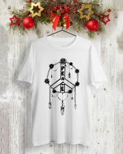 PEACE CATCHER Classic T-Shirt lifestyle-holiday-crewneck-front-2