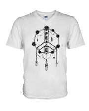 PEACE CATCHER V-Neck T-Shirt thumbnail
