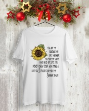 You Are My Sunshine Classic T-Shirt lifestyle-holiday-crewneck-front-2