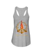 PEACE LOVE CAMPING Ladies Flowy Tank thumbnail