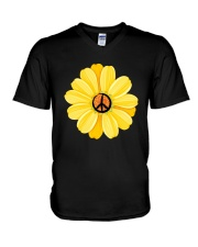 FLOWER V-Neck T-Shirt thumbnail