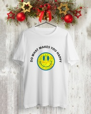 PEACE EMO Classic T-Shirt lifestyle-holiday-crewneck-front-2
