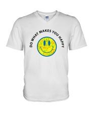 PEACE EMO V-Neck T-Shirt thumbnail