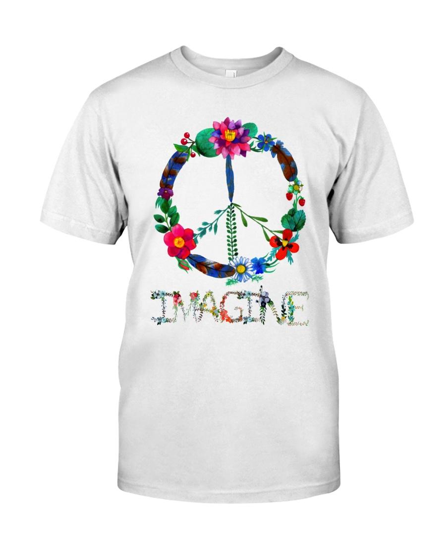 IMAGINE FLOWER Classic T-Shirt