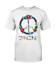 IMAGINE FLOWER Classic T-Shirt front