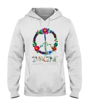 IMAGINE FLOWER Hooded Sweatshirt thumbnail