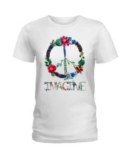 IMAGINE FLOWER Ladies T-Shirt thumbnail