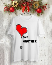 LOVE ONE ANOTHER Classic T-Shirt lifestyle-holiday-crewneck-front-2