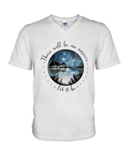 There Will Be An Answer Let It Be  V-Neck T-Shirt thumbnail