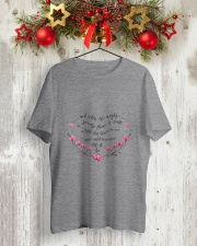 Shine Until Tomorrow Let It Be Classic T-Shirt lifestyle-holiday-crewneck-front-2