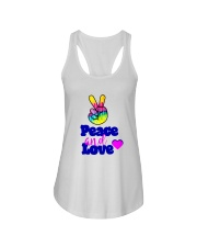 PEACE AND LOVE Ladies Flowy Tank thumbnail