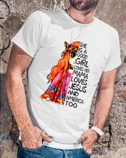 She Is A Good Girl Classic T-Shirt lifestyle-mens-crewneck-front-4