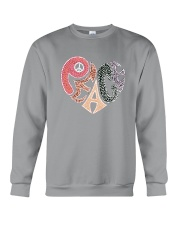PEACE HEART Crewneck Sweatshirt thumbnail