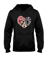 PEACE HEART Hooded Sweatshirt thumbnail