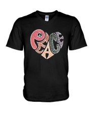 PEACE HEART V-Neck T-Shirt thumbnail