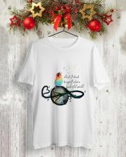 Myself What A Wonderful World 3 Classic T-Shirt lifestyle-holiday-crewneck-front-2
