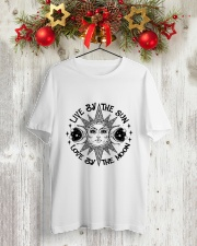 Sun And Moon Classic T-Shirt lifestyle-holiday-crewneck-front-2