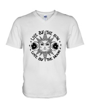 Sun And Moon V-Neck T-Shirt thumbnail