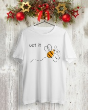 LET IT Classic T-Shirt lifestyle-holiday-crewneck-front-2