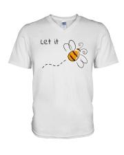 LET IT V-Neck T-Shirt thumbnail